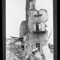 Damage from earthquake, Messina, Italy, 1908