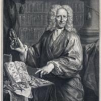 Portrait of Albertus Seba, frontispiece for his Locupletissimi rerum naturalium thesauri accurata descriptio