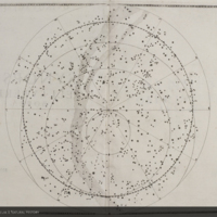 Planisphere from Bayer's Uranometria