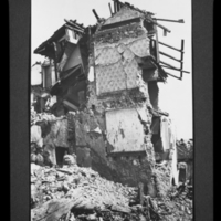 Damage by earthquake, Messina, Italy, 1908