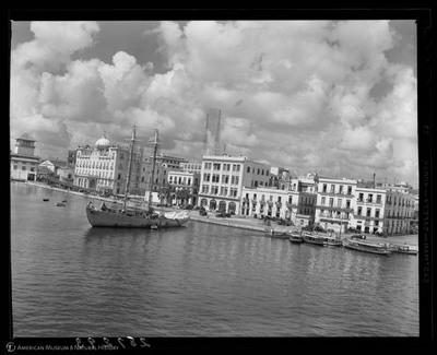 Havana waterfront, 1937