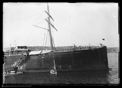 El Montevideo, a troop ship from Spain, Havana Harbor, Cuba, February, 1896